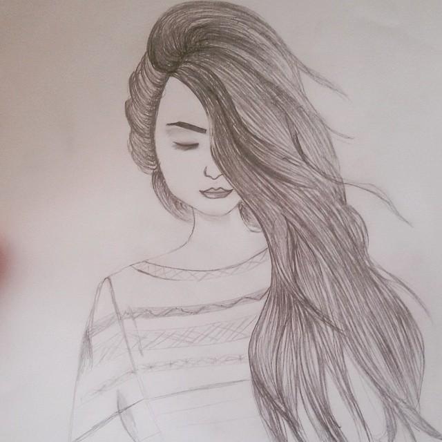 رسومات بنات سهله تعلم طرق رسم فتيات ولا اسهل كيف