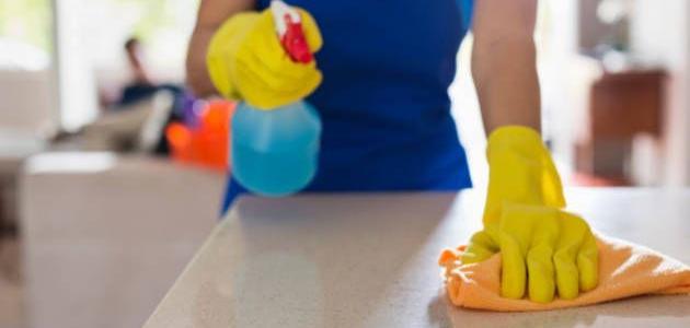 صوره تنظيف المنزل , لبندا سوياااا كيف ننظف منازلنا بكل سهوله
