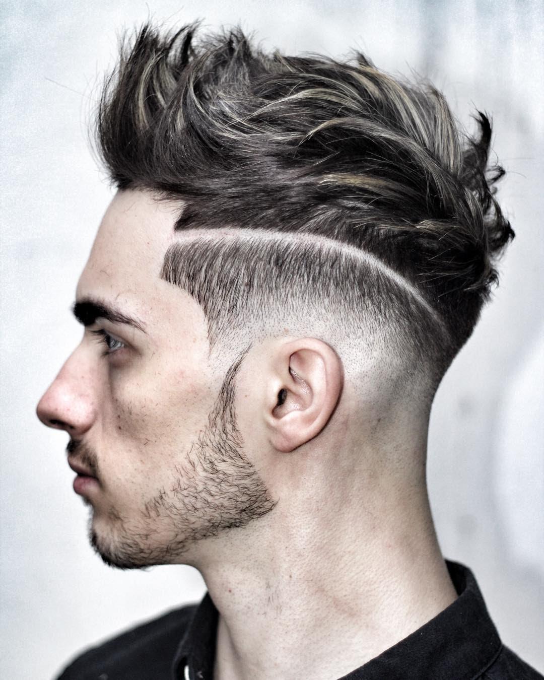 صورة اجمل قصات الشعر للرجال , قصات شعر رجالية