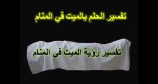 بالصور رؤية الميت في المنام , تفسير رؤيه الميت في المنام لابن سيرين 3316 3 310x165