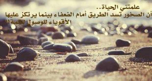 بالصور كلمات جميلة عن الحياة , كلمات صادقه عن الحياة 3419 8 310x165