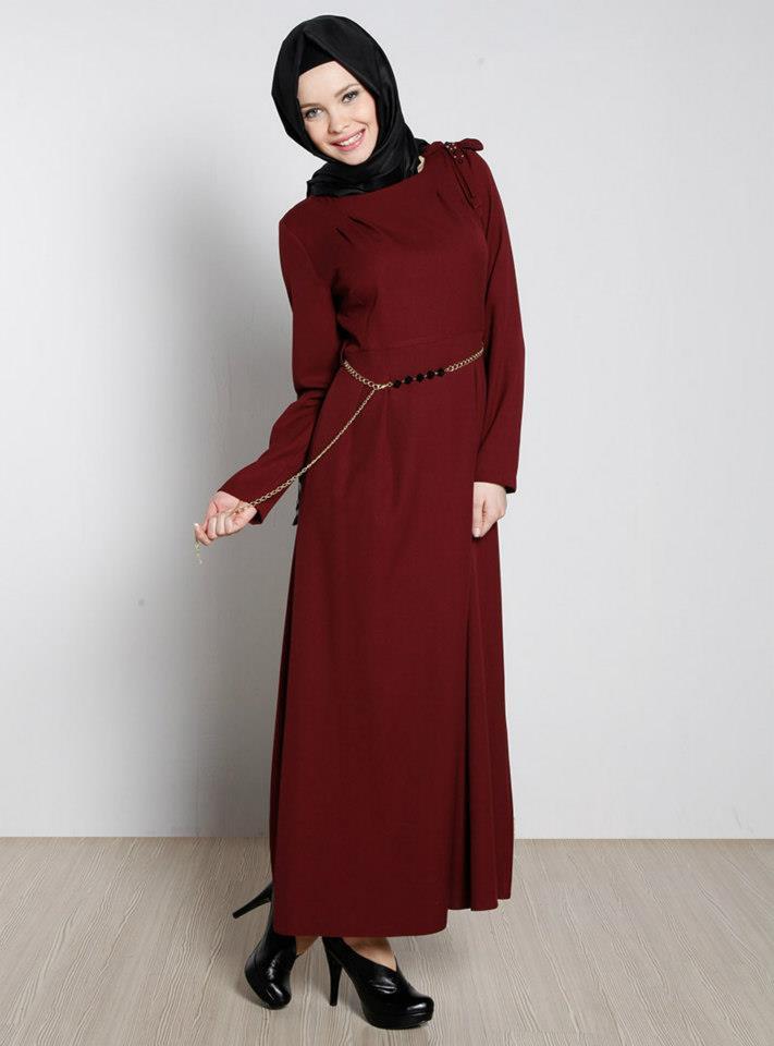 بالصور ملابس شتوية للمحجبات تركية , ملابس محجبات شتوي روعة 3558 10