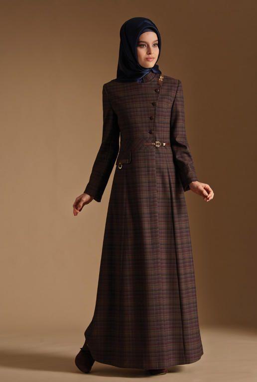 بالصور ملابس شتوية للمحجبات تركية , ملابس محجبات شتوي روعة 3558 2