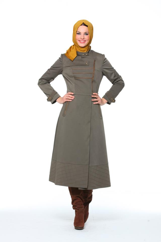 بالصور ملابس شتوية للمحجبات تركية , ملابس محجبات شتوي روعة 3558 4
