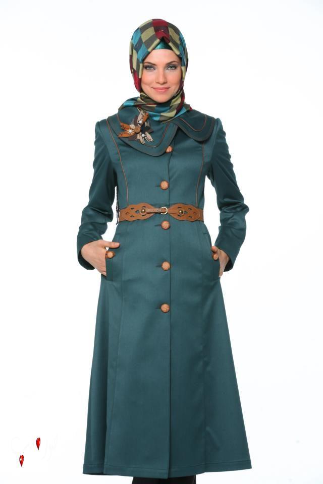 بالصور ملابس شتوية للمحجبات تركية , ملابس محجبات شتوي روعة 3558 6