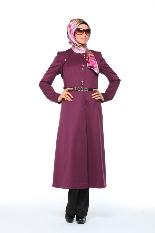بالصور ملابس شتوية للمحجبات تركية , ملابس محجبات شتوي روعة 3558 8