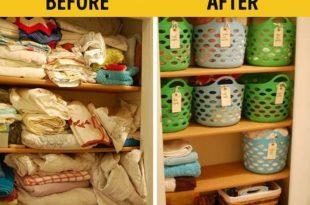 صورة تنظيم البيت , طرق تنظيم المنازل