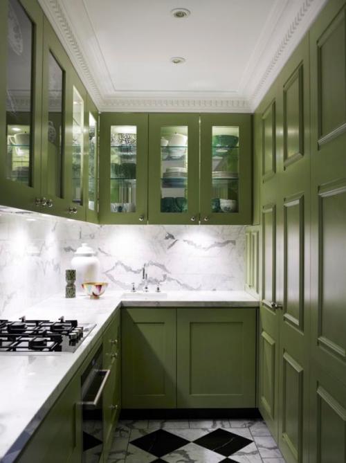 بالصور تصميم مطابخ صغيرة , اجمل ديكور لمطبخ للاماكن الصغيرة 411 3