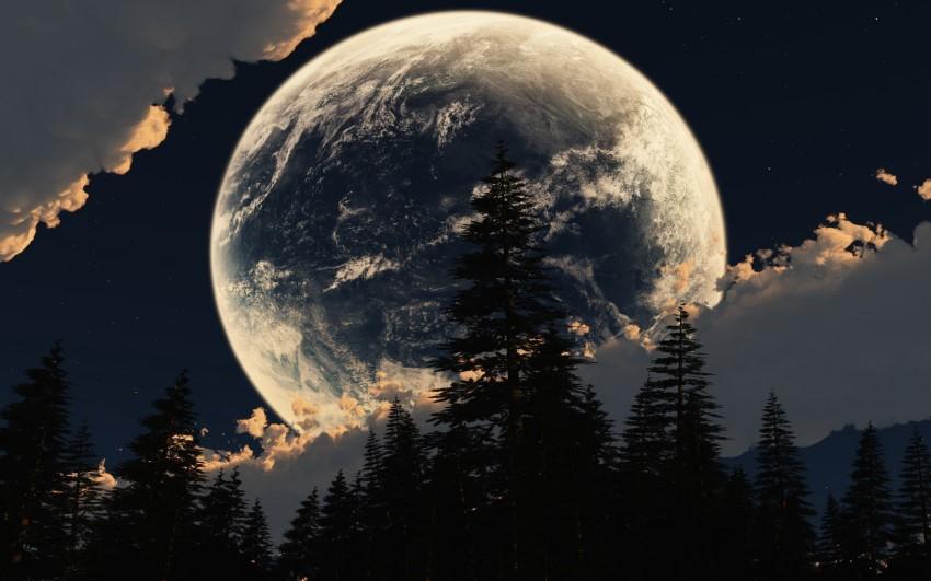 بالصور صور للقمر , احلى الصور لمشهد القمر 4154 11