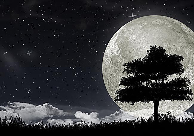 بالصور صور للقمر , احلى الصور لمشهد القمر 4154 12
