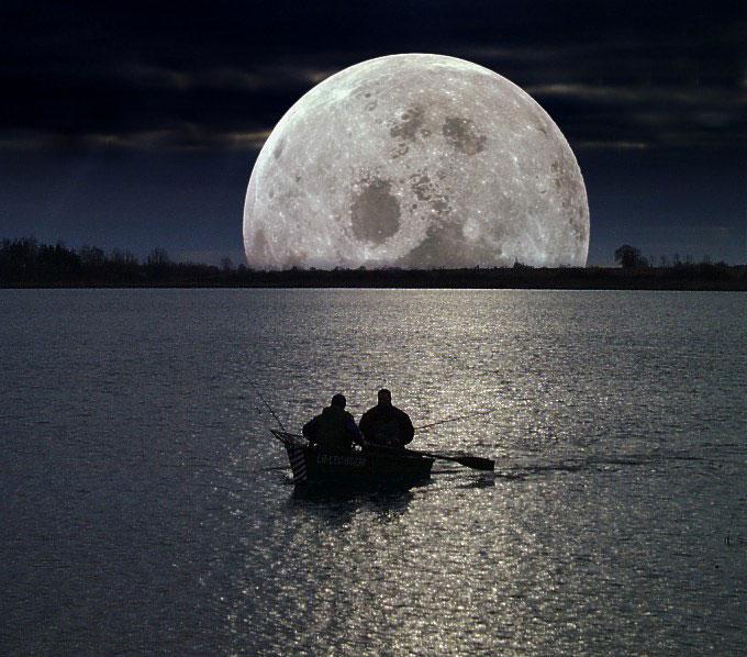 بالصور صور للقمر , احلى الصور لمشهد القمر 4154 7
