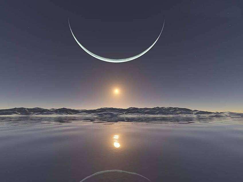 بالصور صور للقمر , احلى الصور لمشهد القمر 4154 8