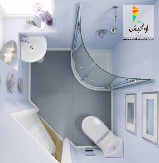 بالصور ديكورات حمامات بسيطة , حمامات جميلة وانيقة بسيطة ورقيقة 419 12
