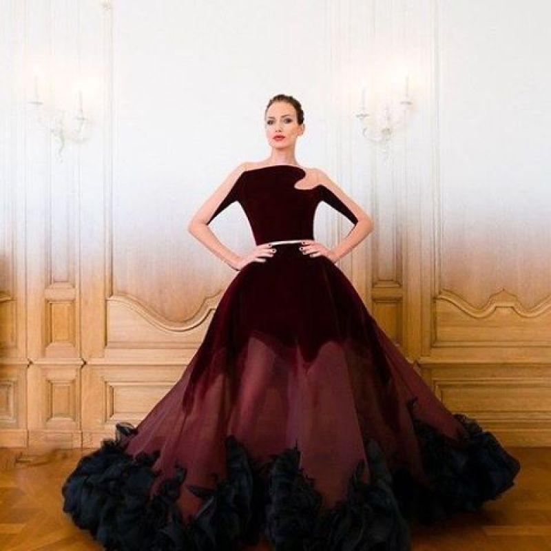 بالصور اجمل فستان في العالم , صورة لاشيك وارق فستان عالميا 478 11