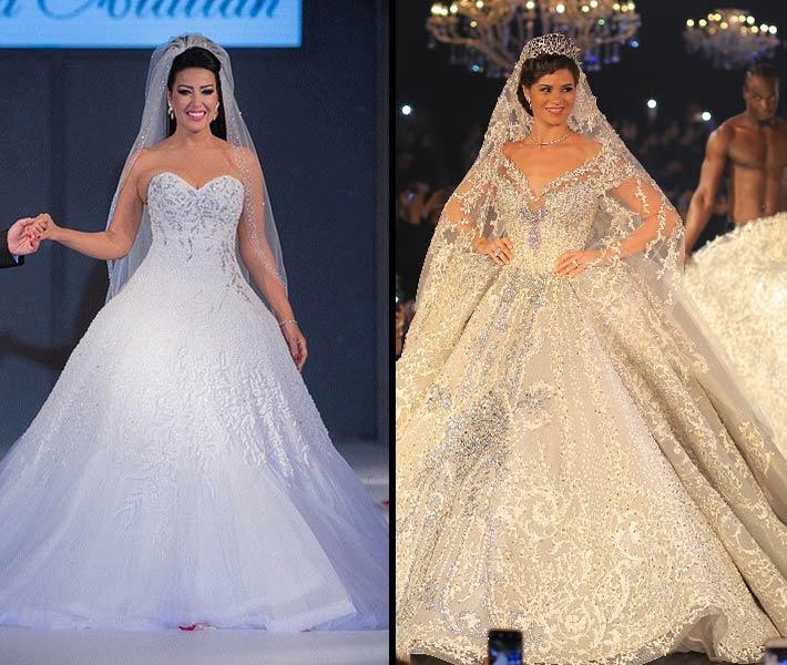 بالصور اجمل فستان في العالم , صورة لاشيك وارق فستان عالميا 478 15