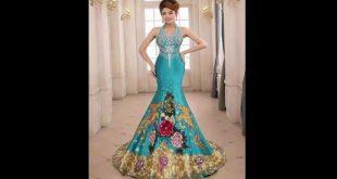 صوره اجمل فستان في العالم , صورة لاشيك وارق فستان عالميا