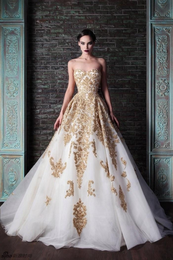 بالصور اجمل فستان في العالم , صورة لاشيك وارق فستان عالميا 478 8