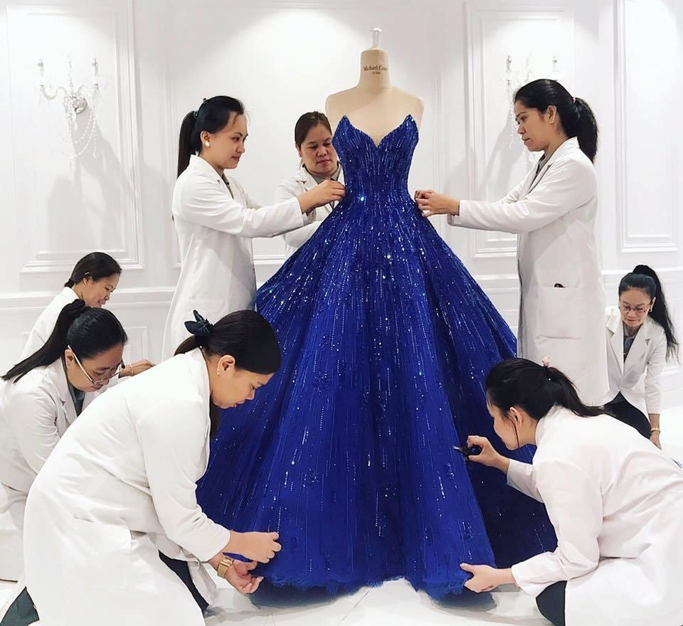 بالصور اجمل فستان في العالم , صورة لاشيك وارق فستان عالميا 478 9
