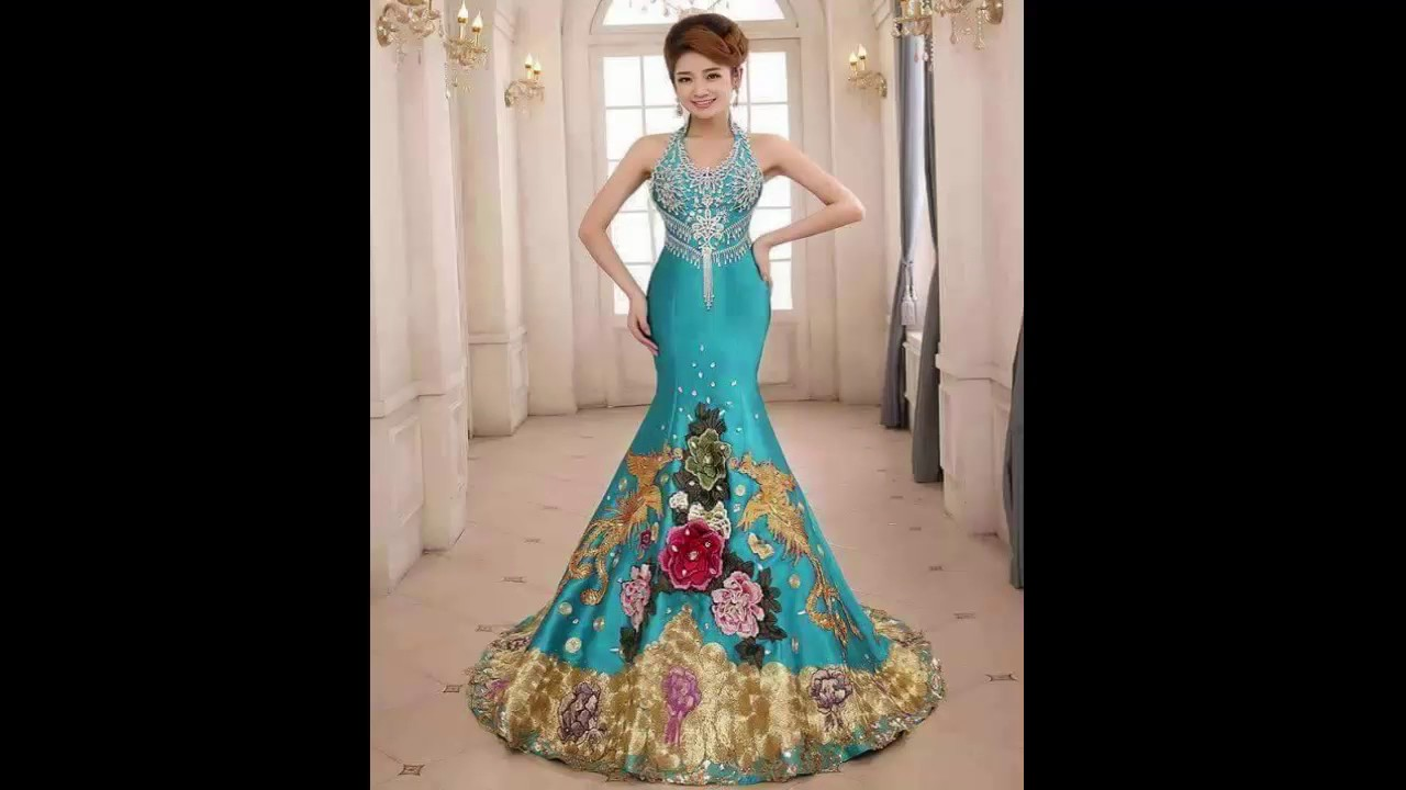 بالصور اجمل فستان في العالم , صورة لاشيك وارق فستان عالميا 478
