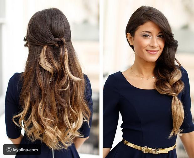 بالصور صور تسريحات شعر , اشيك تسريحات جديدة لجميع انواع الشعر 517 14