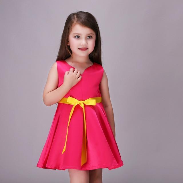 بالصور فساتين اطفال بنات , ارق ستايل فستان بنوته كيوت 808 8
