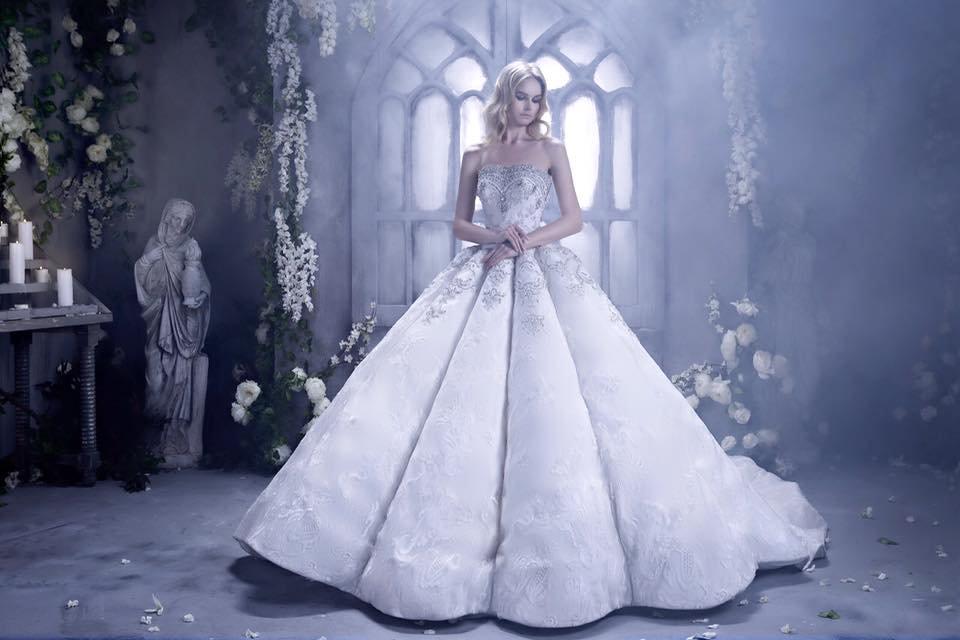 بالصور صور فساتين عروس , ديزينات فستان عروس الاحلام 814 1