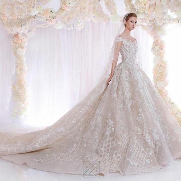 بالصور صور فساتين عروس , ديزينات فستان عروس الاحلام 814 10