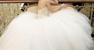 صوره صور فساتين عروس , ديزينات فستان عروس الاحلام