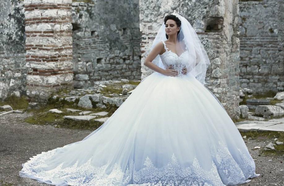 بالصور صور فساتين عروس , ديزينات فستان عروس الاحلام 814 12
