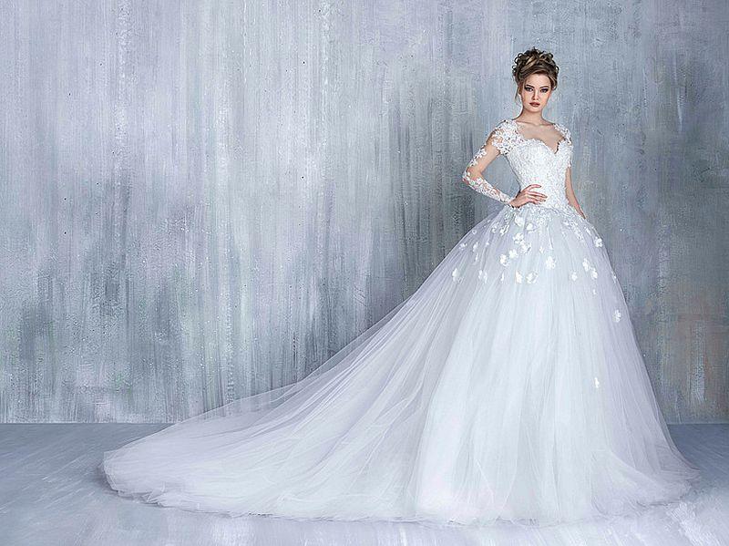 بالصور صور فساتين عروس , ديزينات فستان عروس الاحلام 814 2