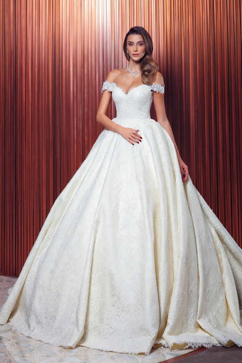 بالصور صور فساتين عروس , ديزينات فستان عروس الاحلام 814 3