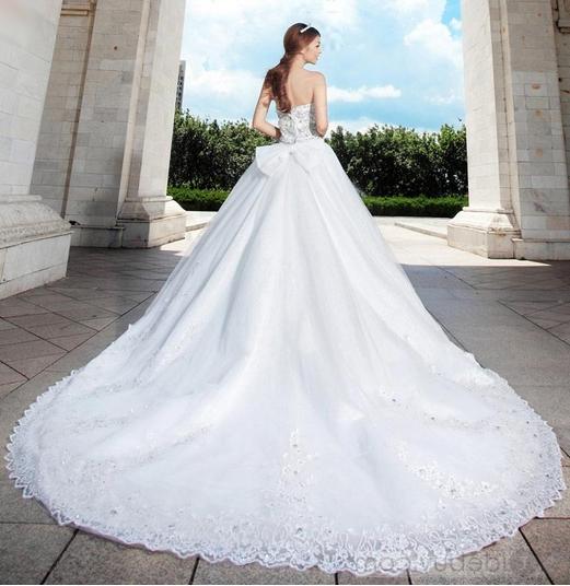 بالصور صور فساتين عروس , ديزينات فستان عروس الاحلام 814 7