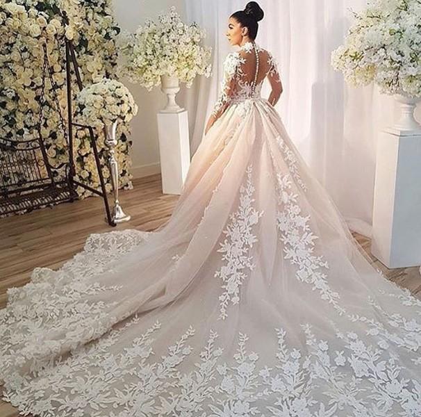 بالصور صور فساتين عروس , ديزينات فستان عروس الاحلام 814 9