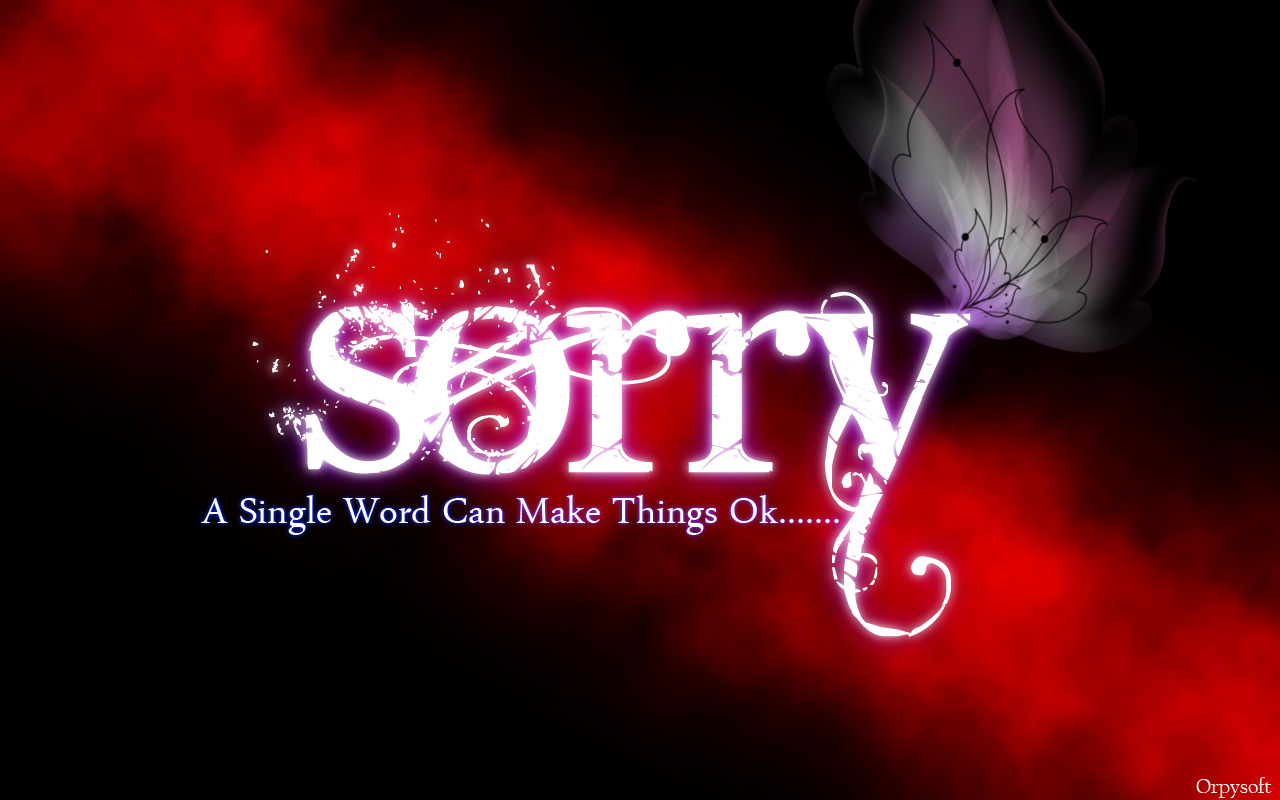 بالصور كلام اعتذار قوي , كلمة اسف قوة وليست ضعف 989 3