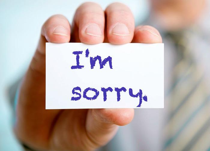 بالصور كلام اعتذار قوي , كلمة اسف قوة وليست ضعف 989 7
