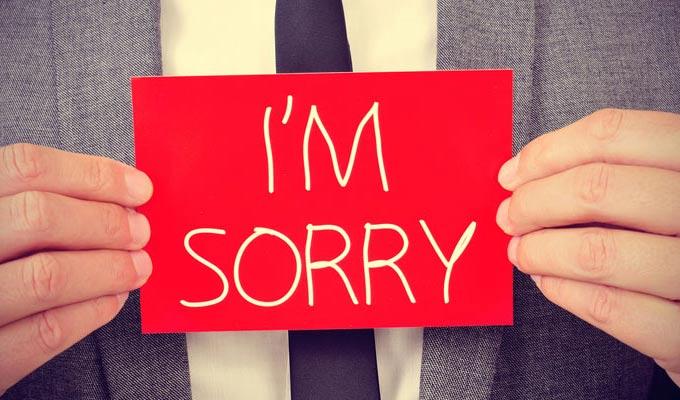 بالصور كلام اعتذار قوي , كلمة اسف قوة وليست ضعف 989 8