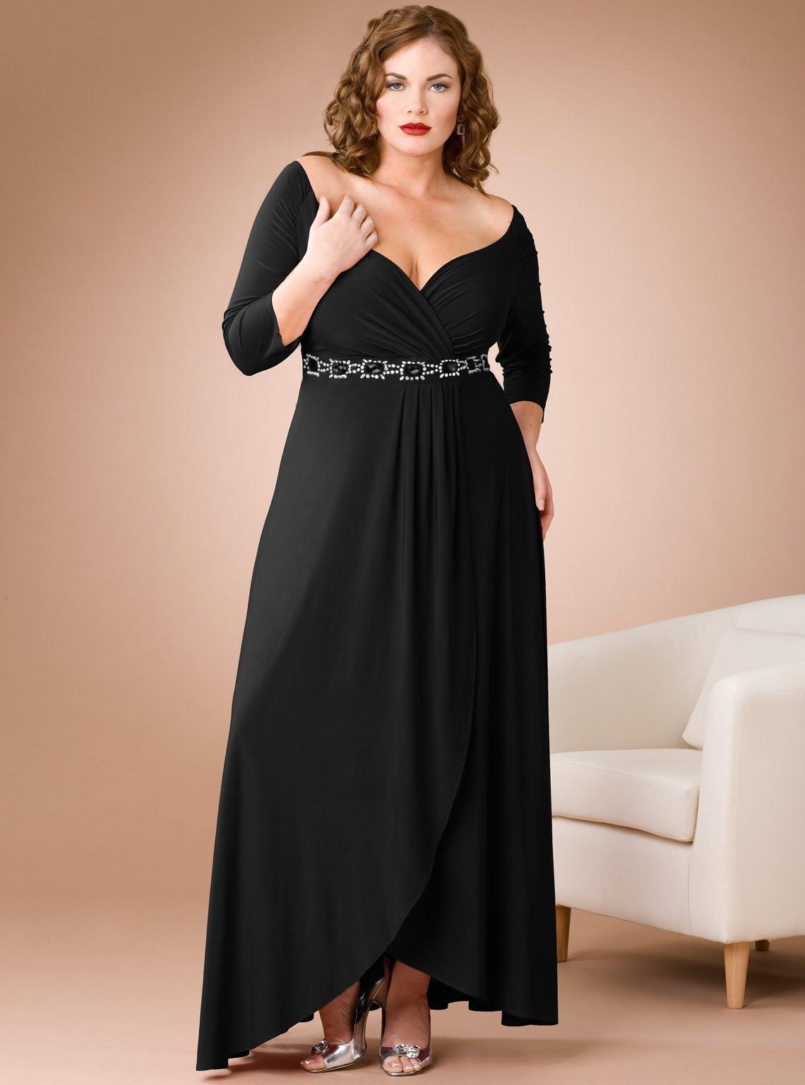 913860248 فساتين سهرة للسمينات , افخم ديزينات لفستان سواريه للمقاسات الكبيرة - كيف