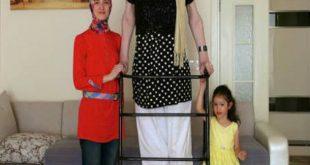 صوره اطول امراة في العالم , نساء دخلوا موسعة جينس لطول قامتهن