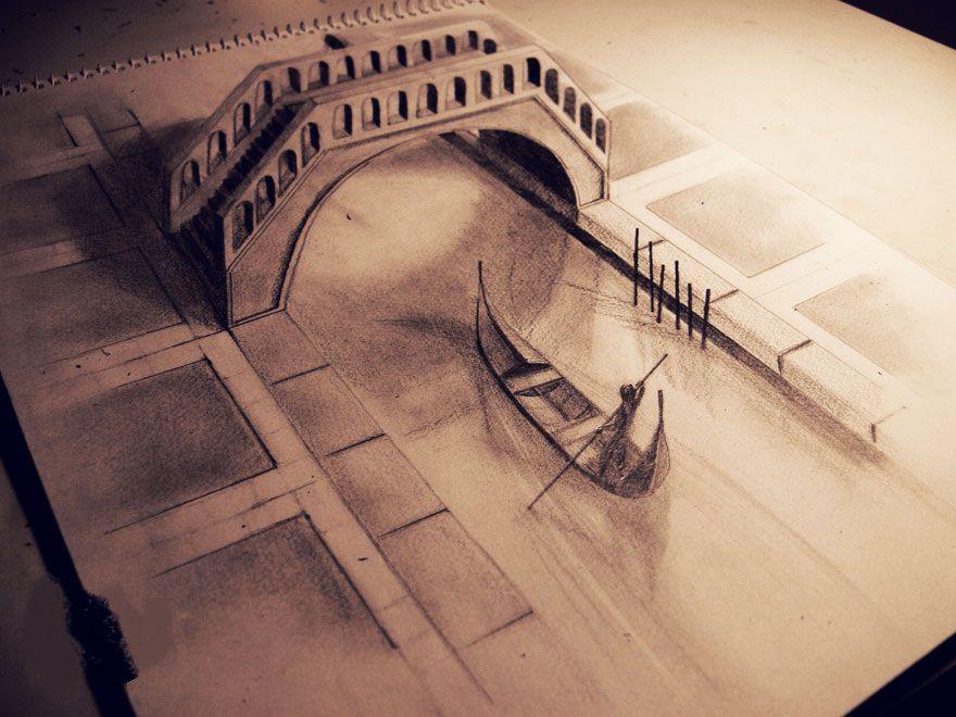 بالصور اجمل رسومات , ارق بورتريهات فنان بالقلم الرصاص 795 3