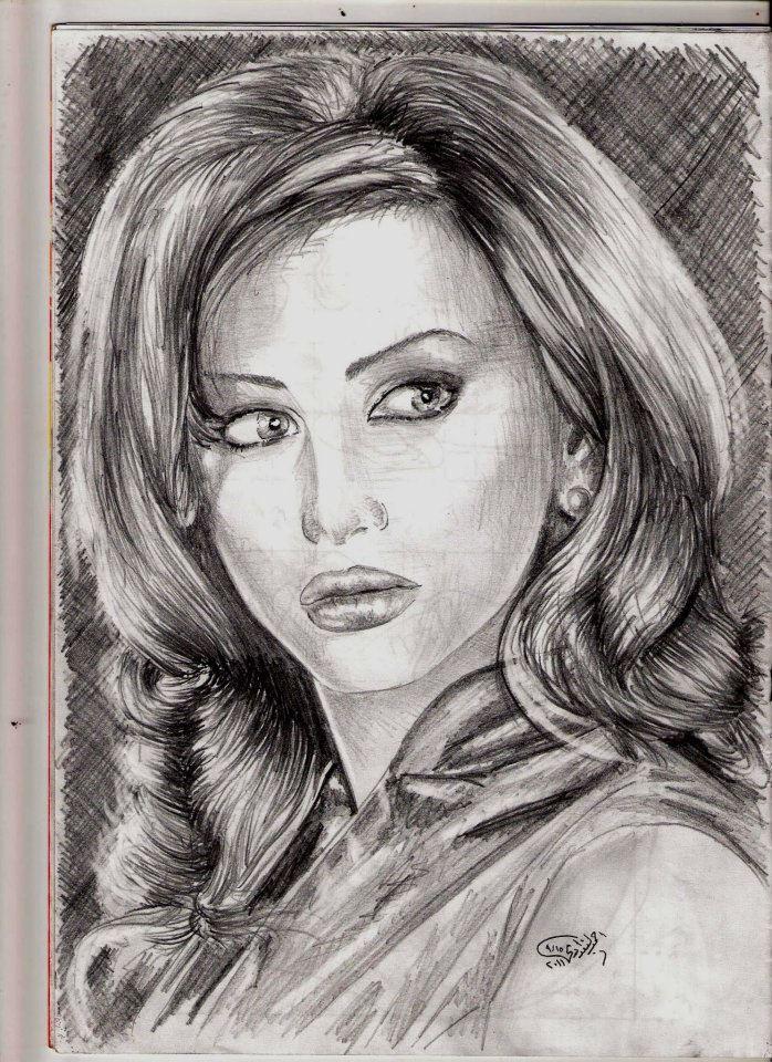 بالصور اجمل رسومات , ارق بورتريهات فنان بالقلم الرصاص 795 6