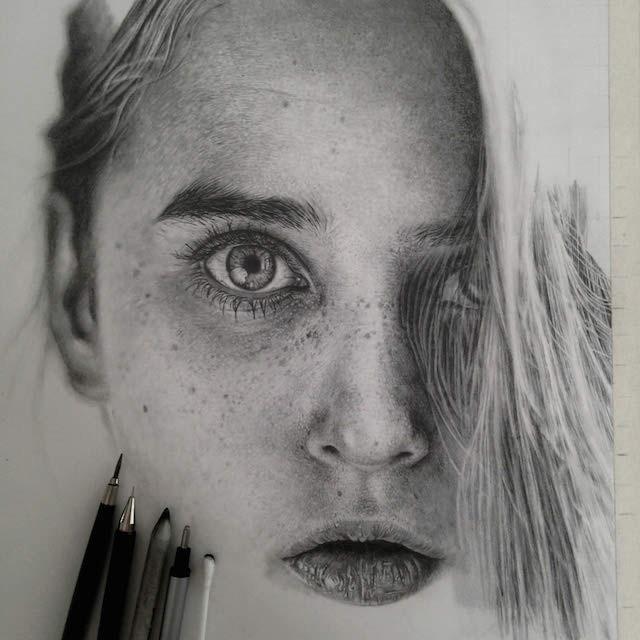 بالصور اجمل رسومات , ارق بورتريهات فنان بالقلم الرصاص 795 8