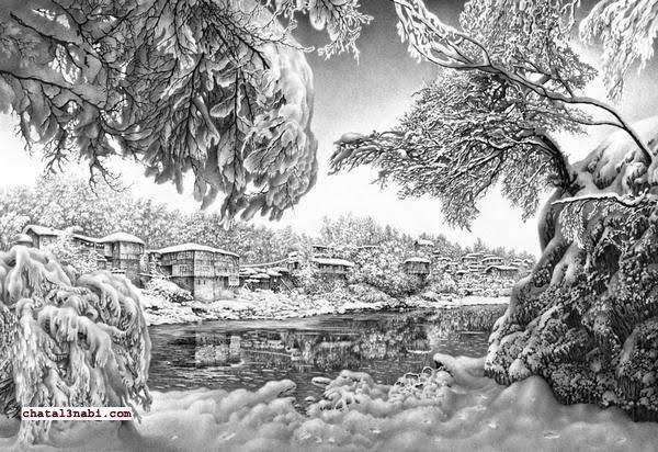 بالصور اجمل رسومات , ارق بورتريهات فنان بالقلم الرصاص 795 9