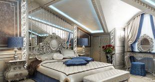 بالصور غرف نوم كلاسيك , لكل عروسين افخم غرفة نوم بالصور 859 11 310x165