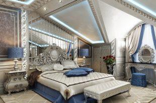 صور غرف نوم كلاسيك , لكل عروسين افخم غرفة نوم بالصور