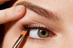 صورة كيفية رسم العين بالمكياج , المكياج وجماله على العيون