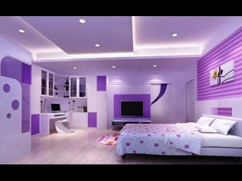صور طلاء الجدران غرف النوم , اروع الطلاء لغرف النوم