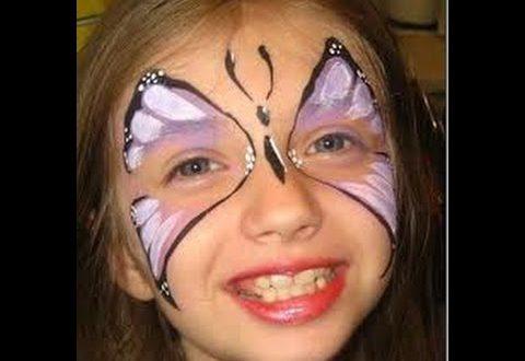 صورة طريقة الرسم على الوجه , افضل الطرق الجميلة للرسم الوجه