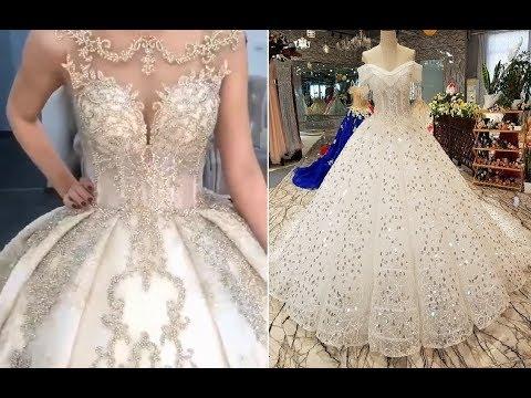 صورة فساتين عرايس 2019 , اروع واجمل الفساتين الرائعة
