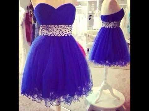 صورة احدث فساتين سهرة قصيرة , اروع واجمل الفساتين الرقيقة الجميلة