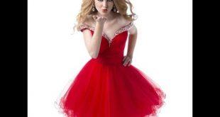 بالصور احدث فساتين سهرة قصيرة , اروع واجمل الفساتين الرقيقة الجميلة 14940 12 310x165